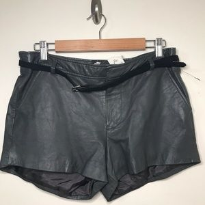 ✨NEW✨Joie Leather Shorts, Size 10